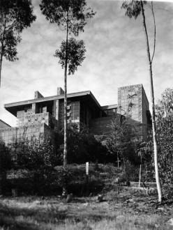 Freeman House 1924 Frank Lloyd Wright