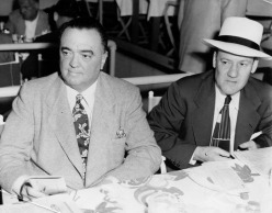 J. Edgar Hoover at Del Mar Turf Club with Clyde Tolson