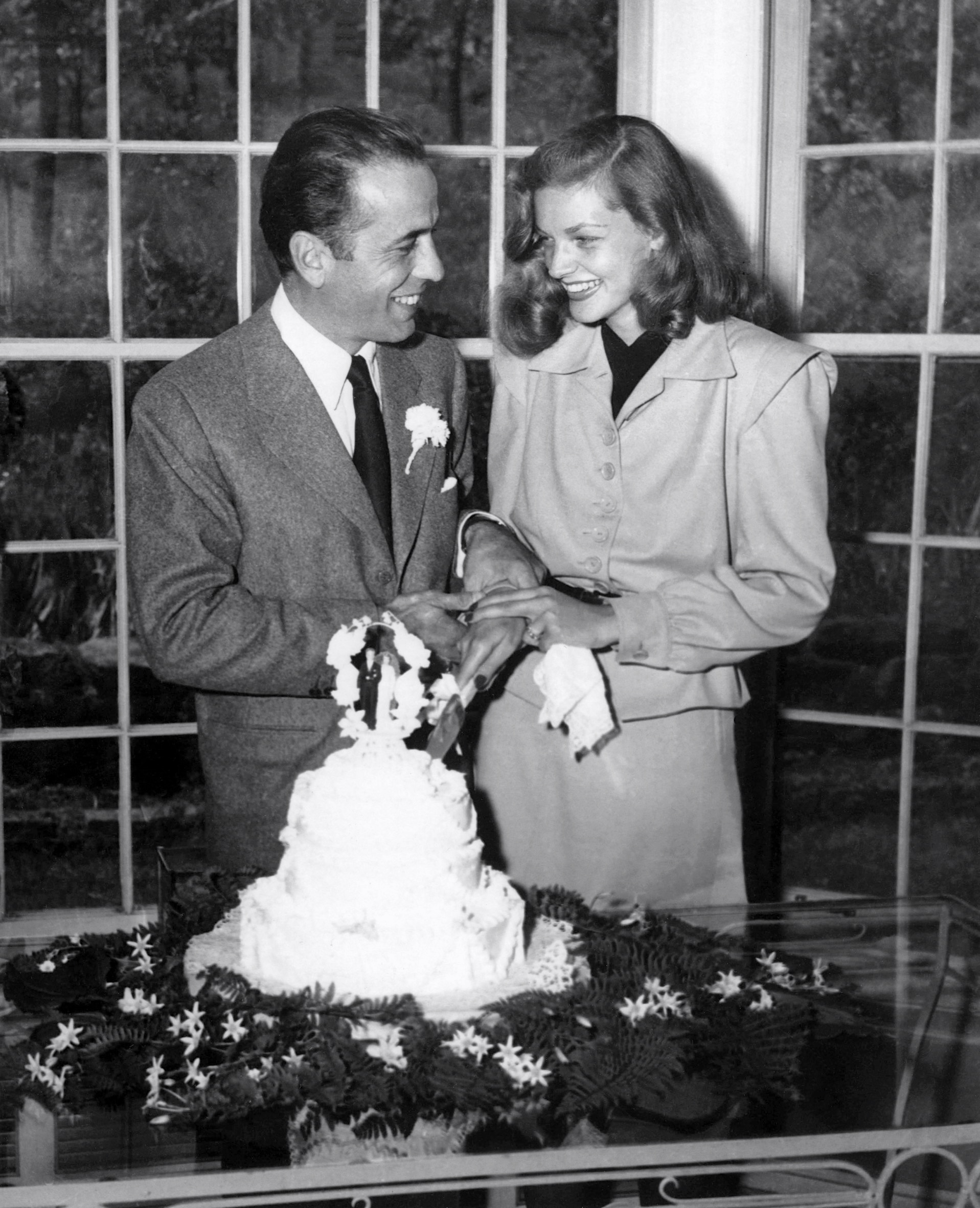 bogart and bacall s wedding beguiling hollywood