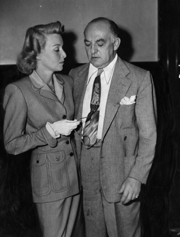 Director Of Gilda Clashes With Harry Cohn In Court