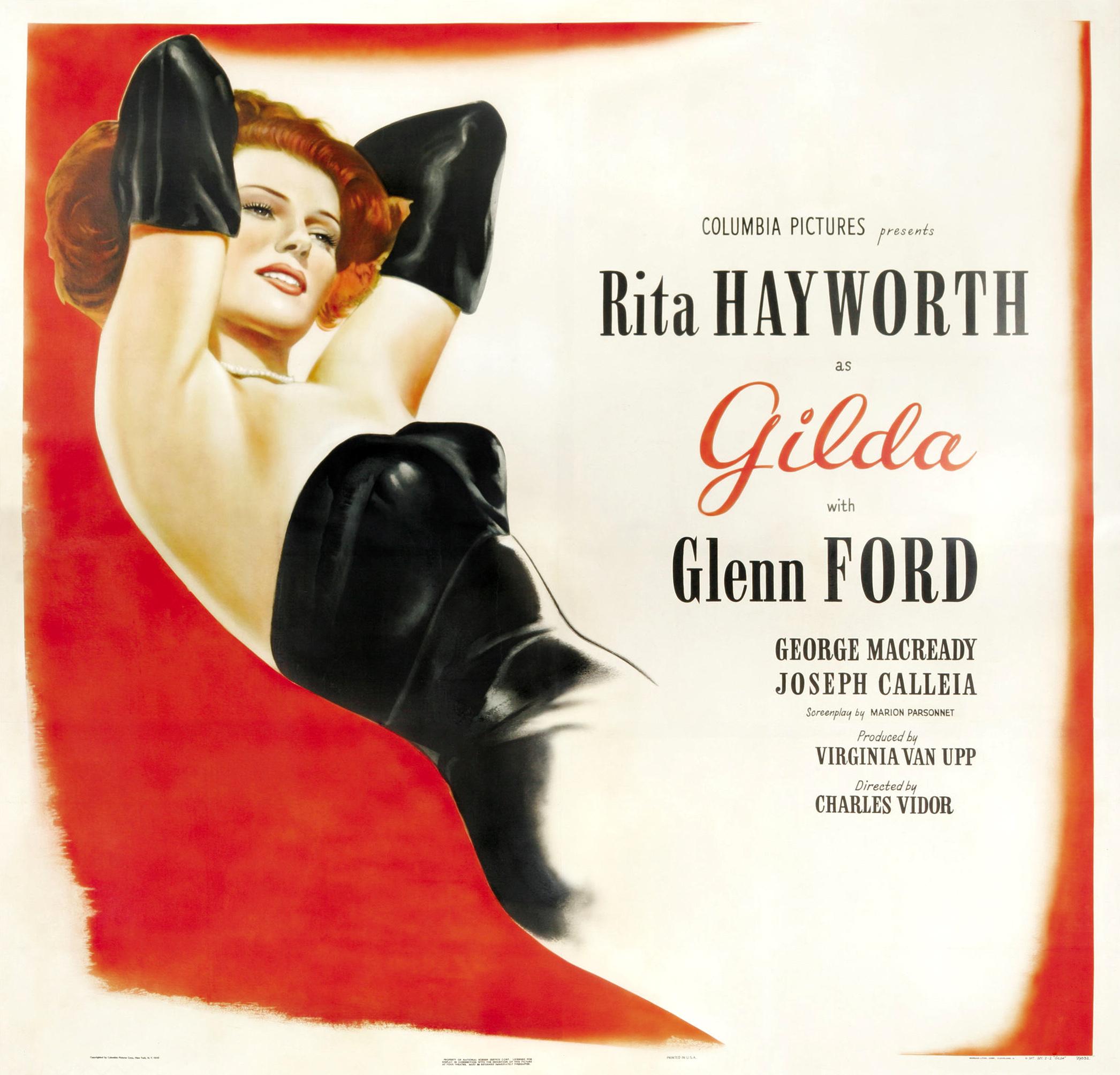 Lester Glenn Ford >> The Cult of the Love Goddess in America: Rita Hayworth, as ...