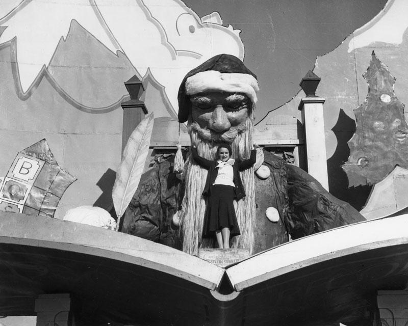 1929 shell oil santa