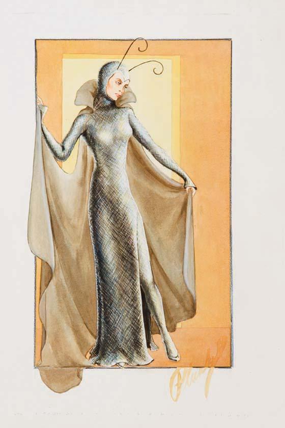 Walter Plunkett design for Christopher Strong