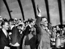 los angeles times fdr 1932 hollywood bowl campaign