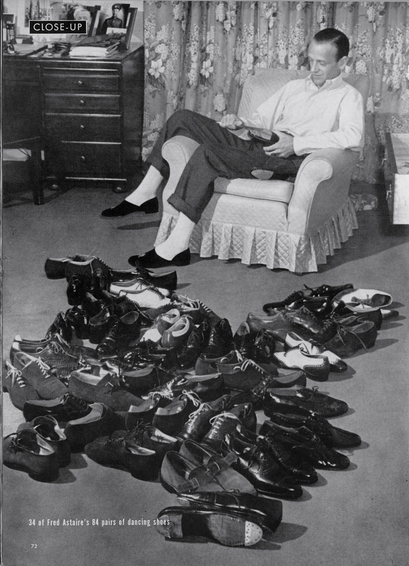 Fred Astaire's shoes