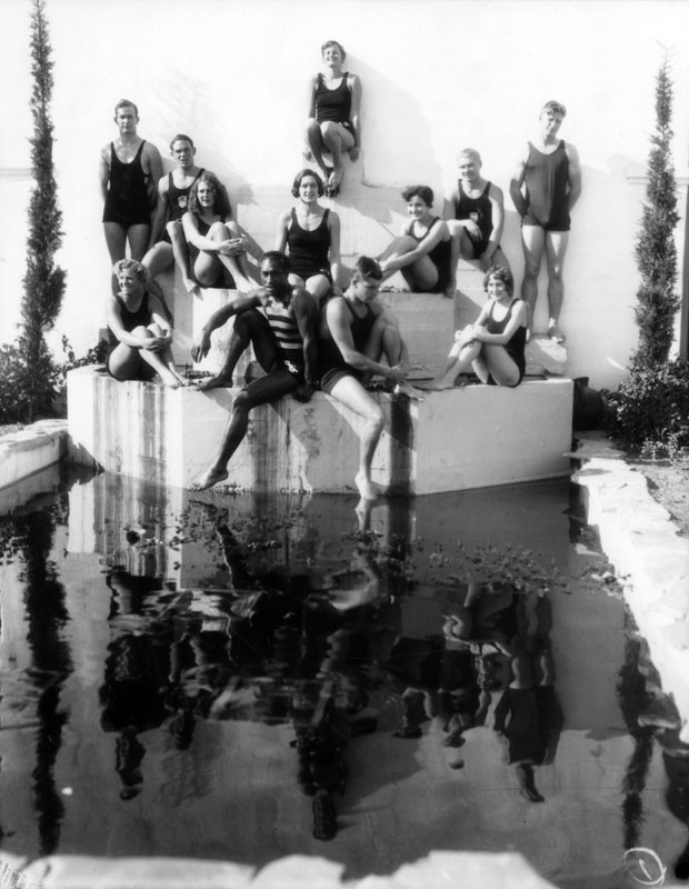 LAAC swim team 20s