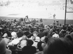 wrigley field comedians vs leading men charity baseball