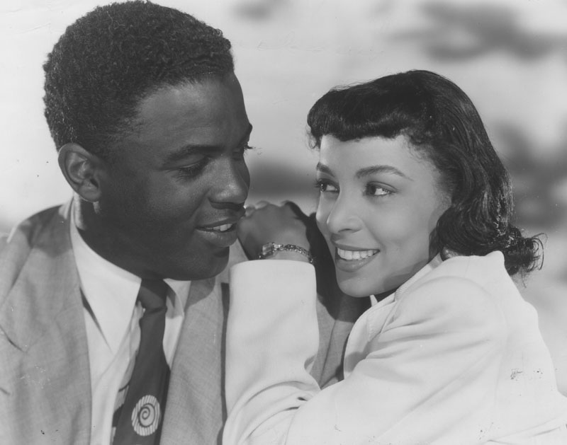jackie robinson and ruby dee