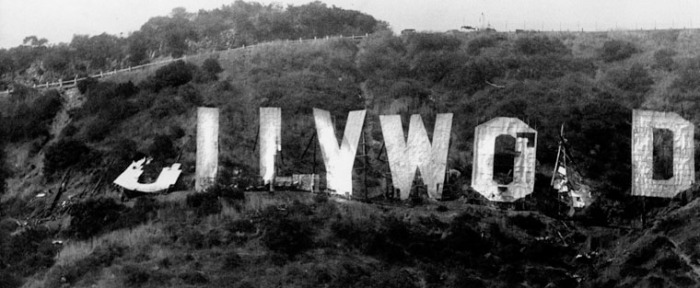 Hollywood Sign August 8th, 1978. Photo credit Ken Papaleo