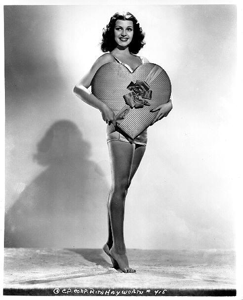 Rita Hayworth Valentine