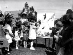 1920s Easter egg hunt Ambassador Hotel