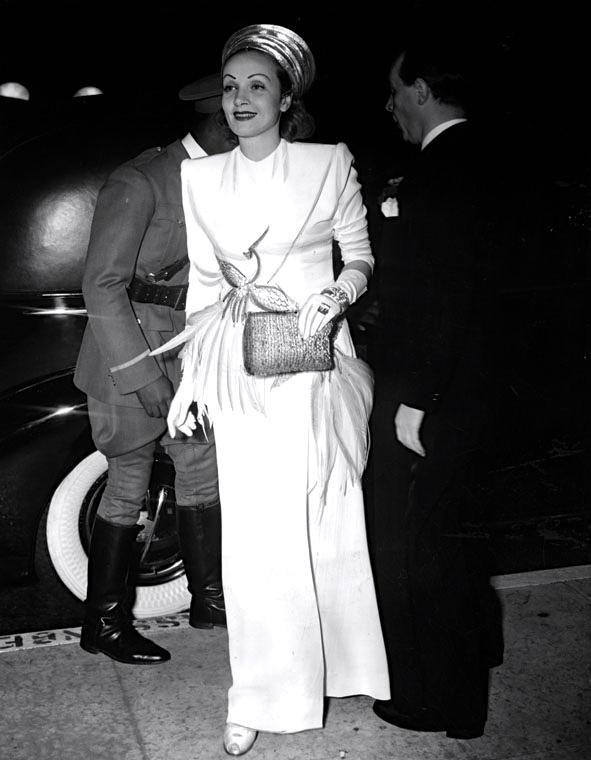 1940 Briggs? and Marlene Dietrich