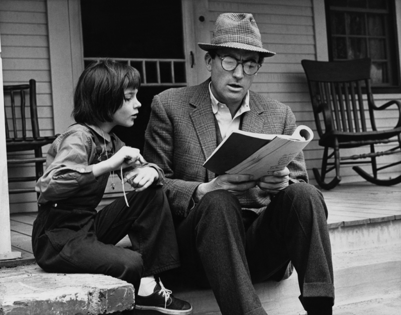 photographer leo fuchs mary-badham-and-gregory-peck