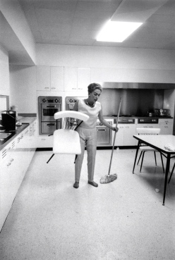 joan in kitchen