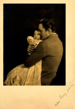 Barrymore and duaghter Diana - by Alfred Cheney Johnston