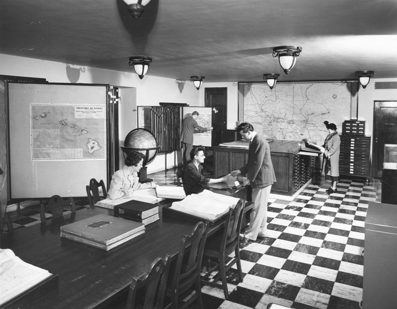 map room library