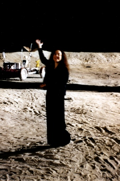 ME ON  MOON SET