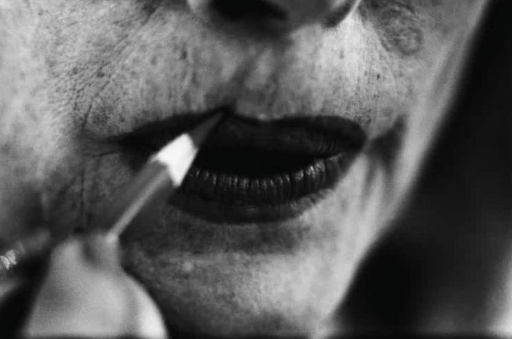 photographer Eve Arnold lips