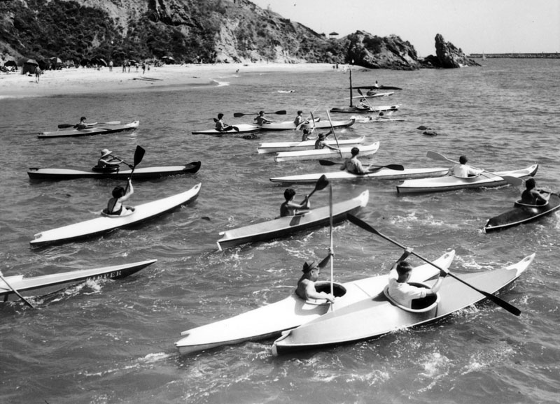 1931 kayaking newport beach