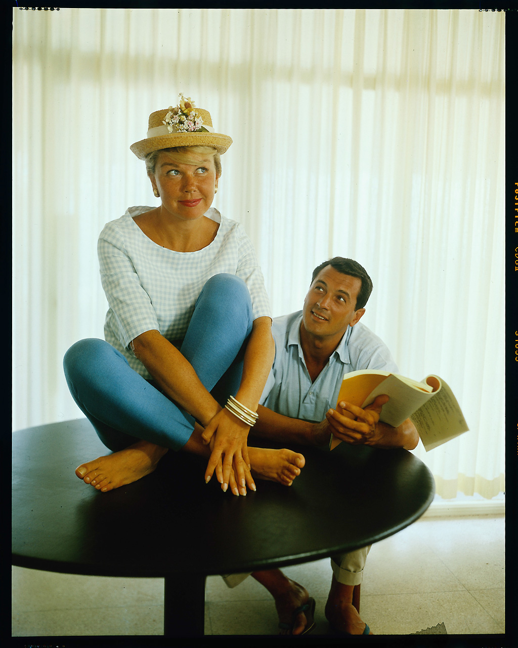 Doris Day And Rock Hudson Beguiling Hollywood