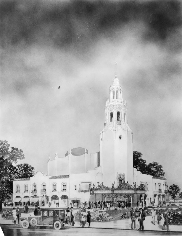 drawing carthay circle