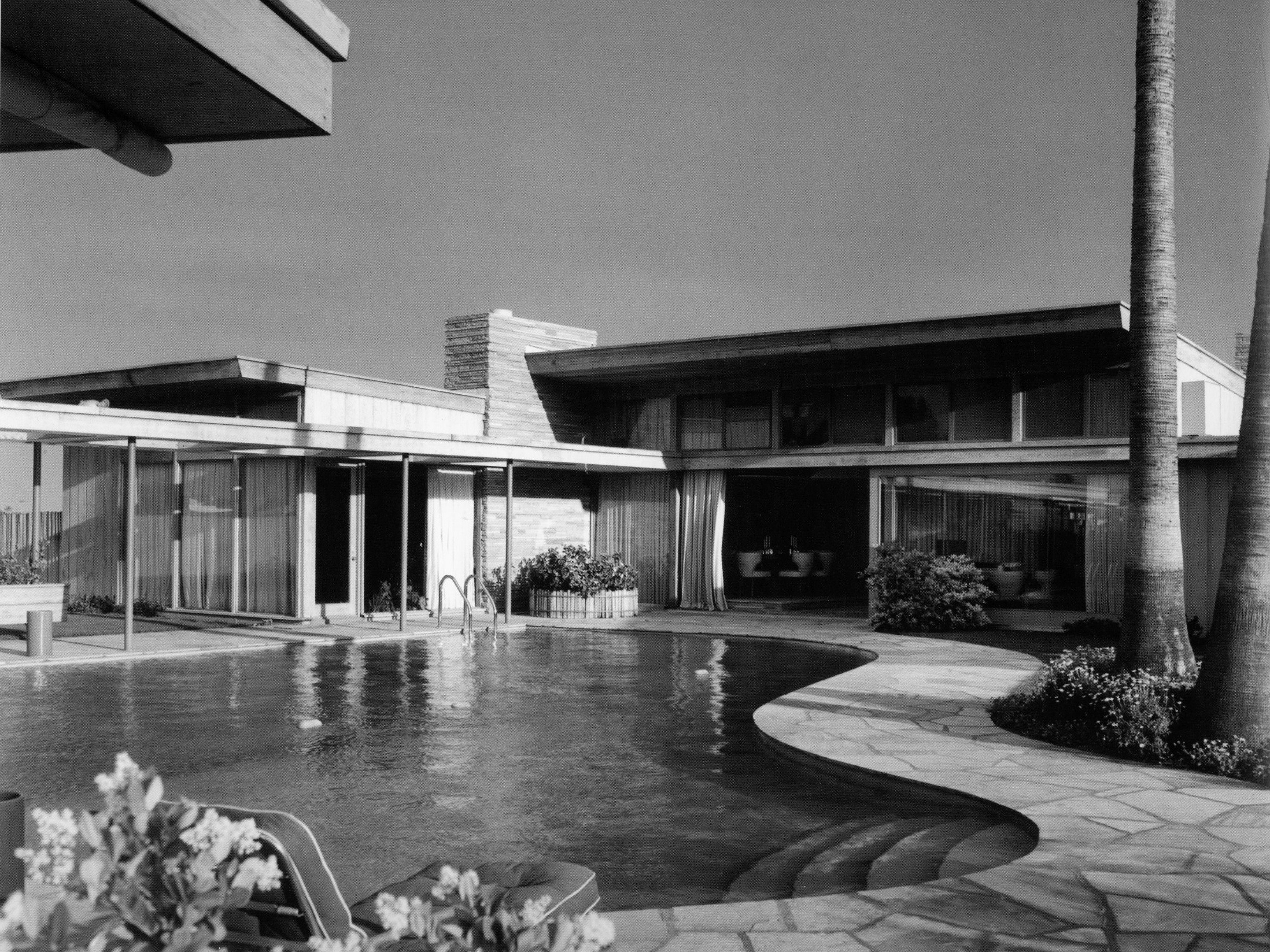 Frank Sinatra S House In Palm Springs Designed By E