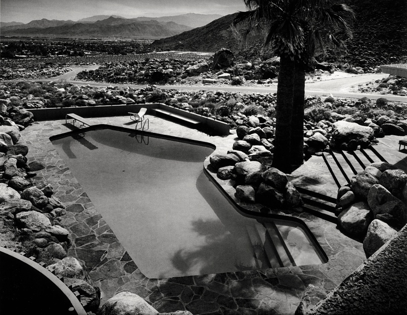 Palm springs the pool at the edris house photo julius for The edris house palm springs