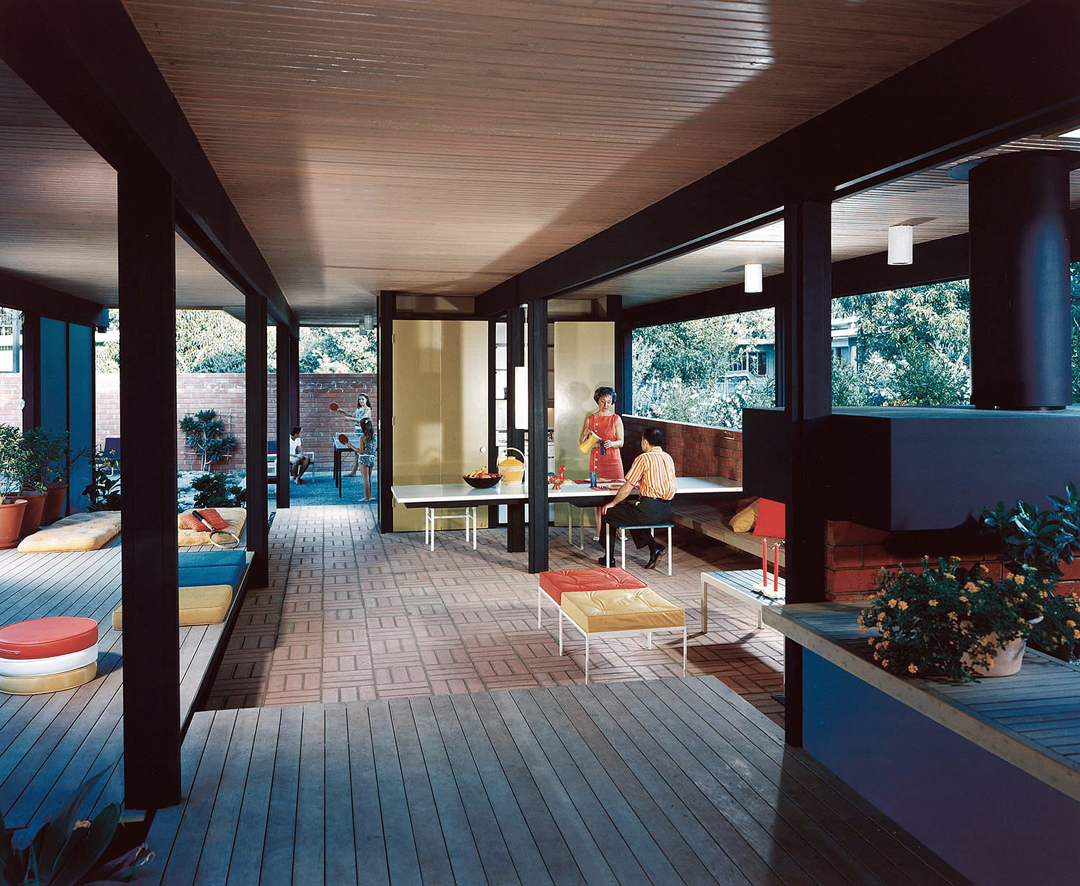 Mid century modern photo by julius shulman designed by for Mid century modern architecture los angeles