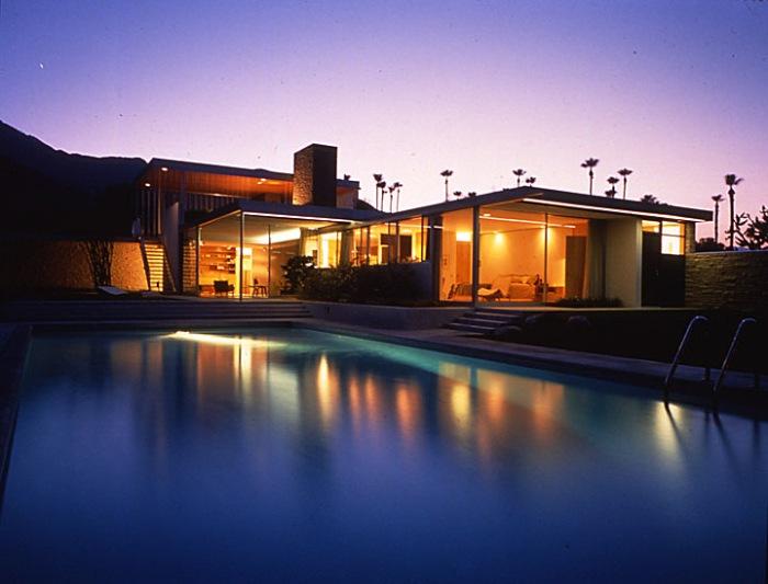 night Kaufmann House photo by David Glomb