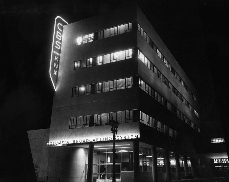 CBS architect William Lescaze 1939