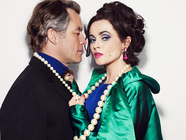Dominic West and Helena Bonham-Carter