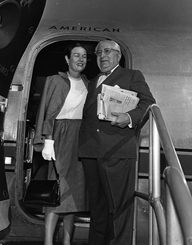 1951 Lorena and Louis B. Mayer