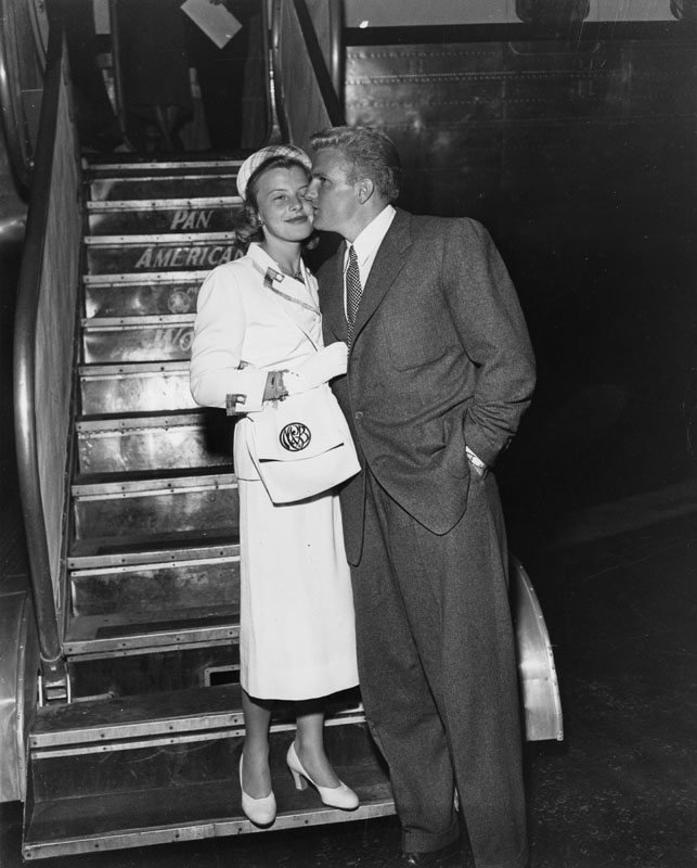 1951 Otis and Missy Chandler (publisher of the Los Angeles Times)
