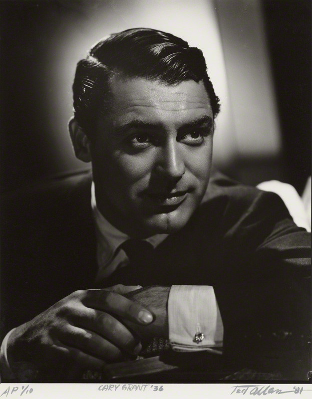 NPG x24967; Cary Grant by Ted Allan