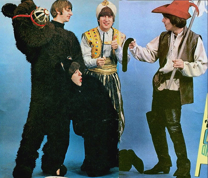 My Childhood Halloween And The Beatles Beguiling Hollywood