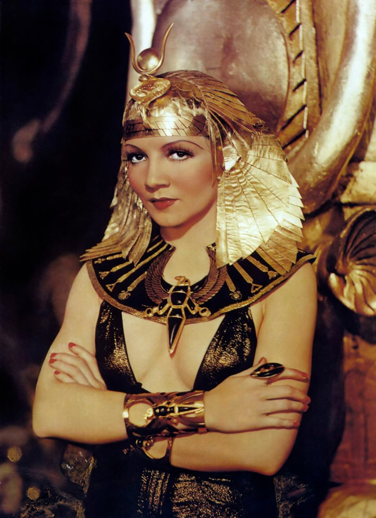 claudette colbert 1934 - cleopatra - by paul hesse