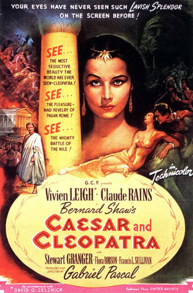Poster - Caesar and Cleopatra_05