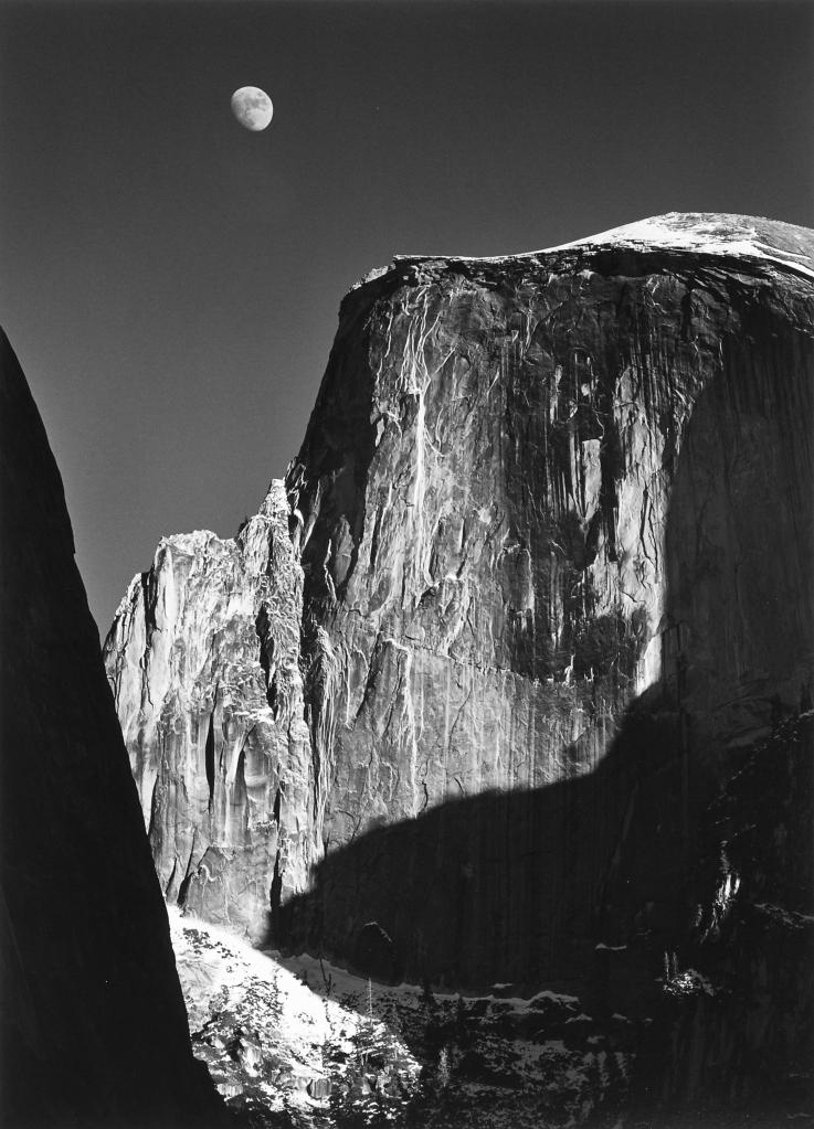 Half Dome Yosemite Ansel Adams