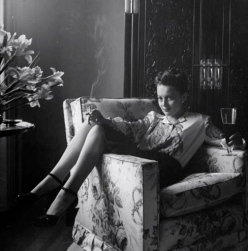 olivia de havilland beer and cigarette