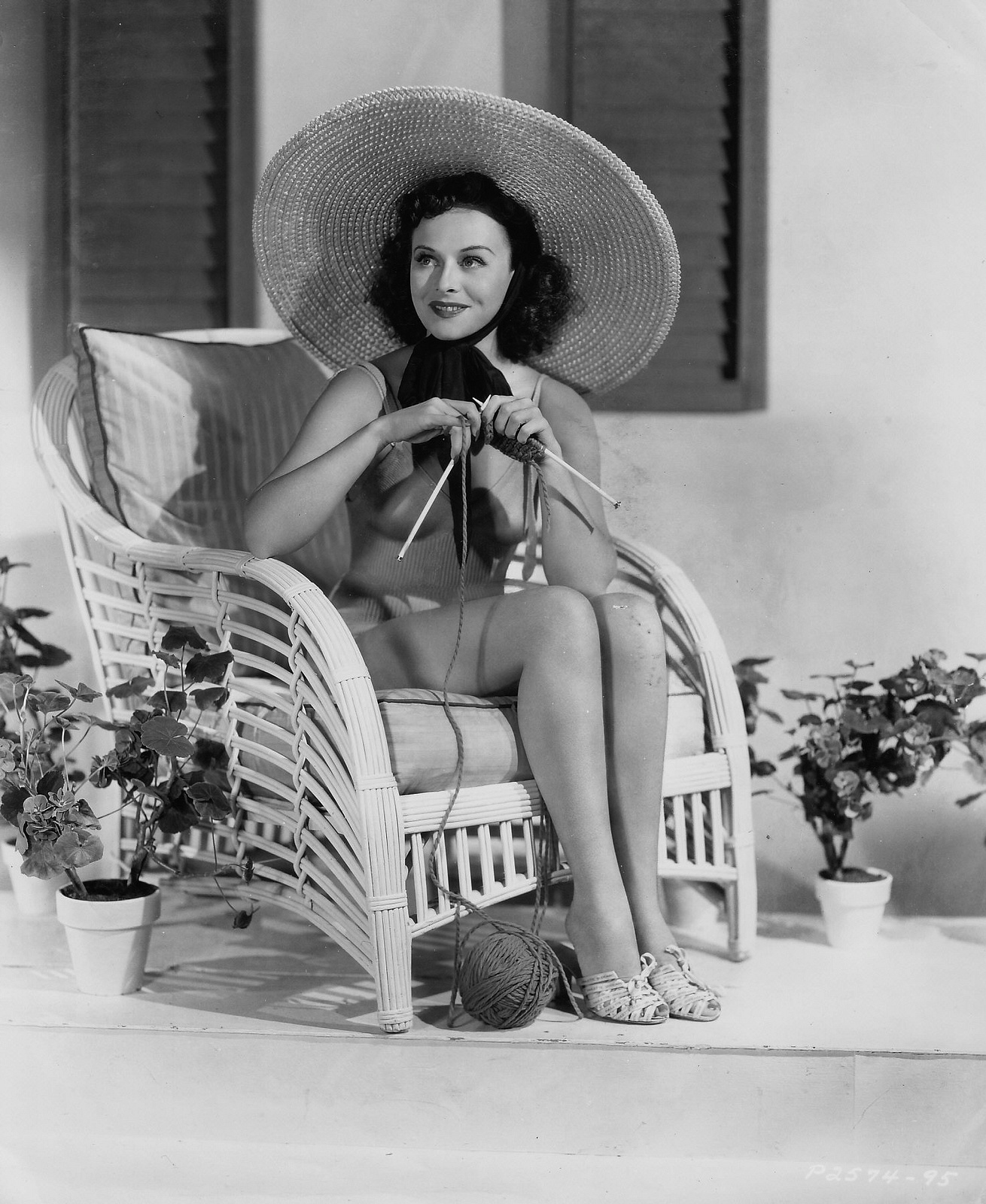 A California Good Morning With Paulette Goddard