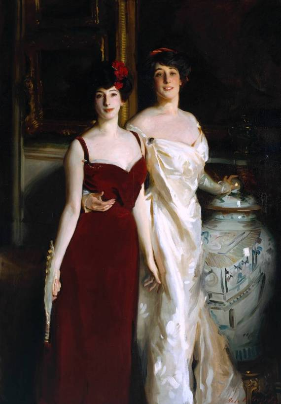Ena and Betty, Daughters of Asher and Mrs Wertheimer 1901 by John Singer Sargent 1856-1925