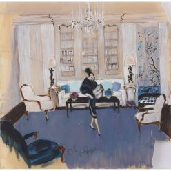 Orry-Kelly set concept Auntie Mame