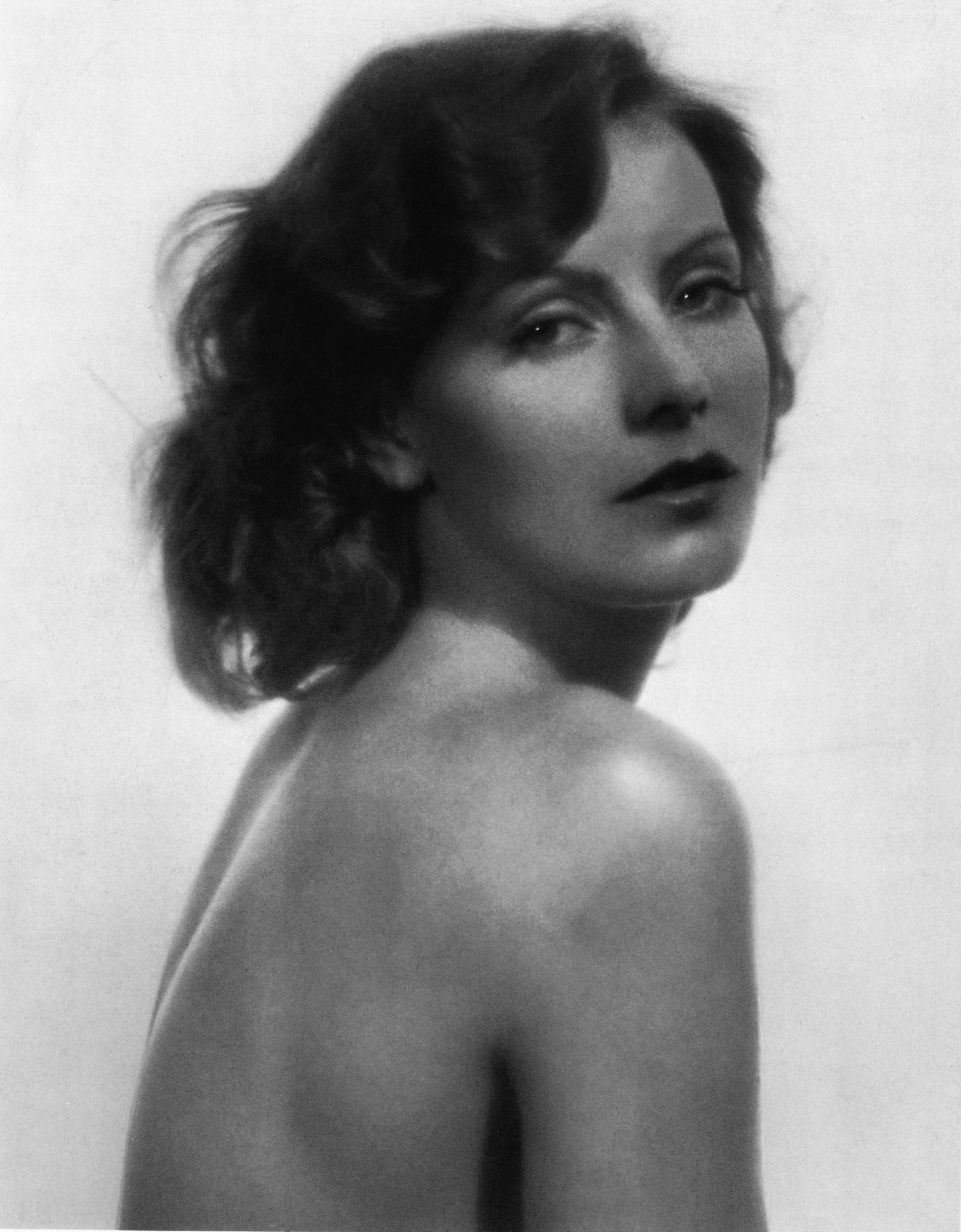 greta naked Garbo