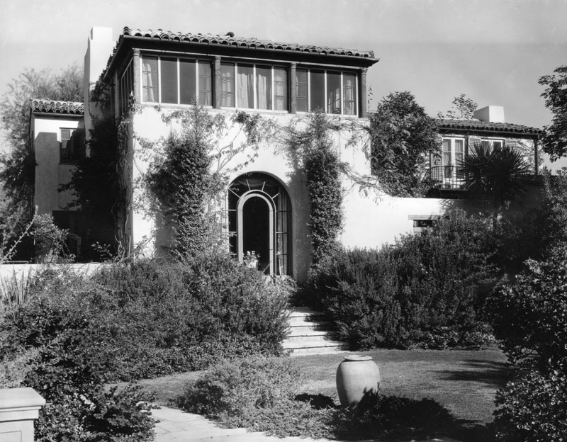 Gloria Swansons Spanish Colonial In Beverly Hills Very