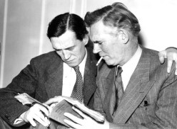 John and Walter Huston
