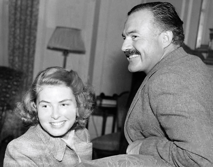 Ingrid-Bergman-Ernest-Hemingway
