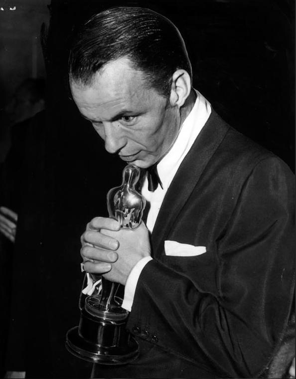 Frank Sinatra Back Stage Academy Awards 1954