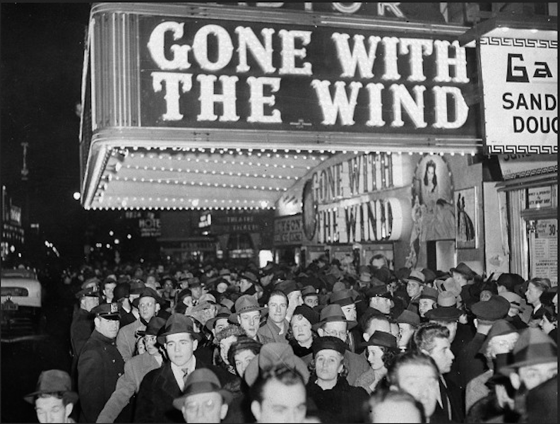 Gone With The Wind Astor NYC