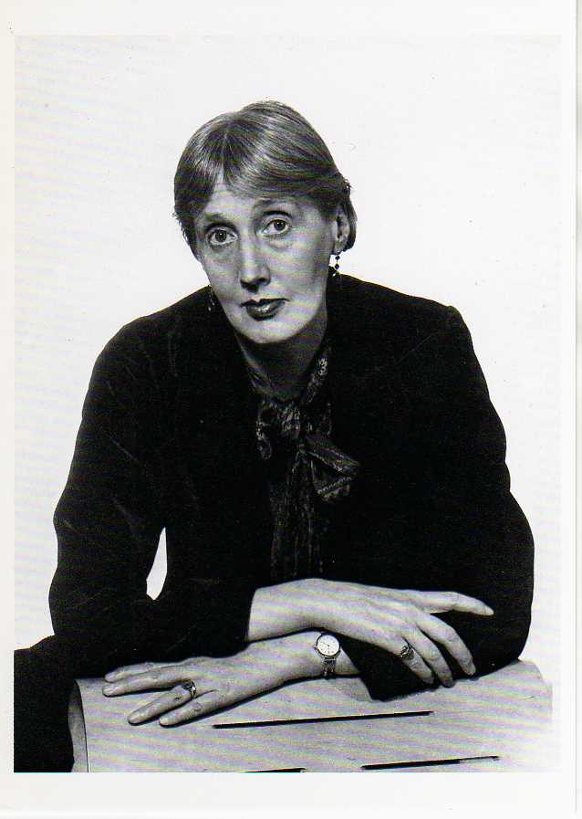 Portrait of Virginia Woolf by Man Ray 1935