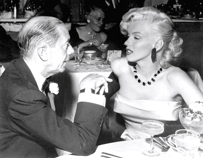 cole porter and marilyn monroe cocoanut grove